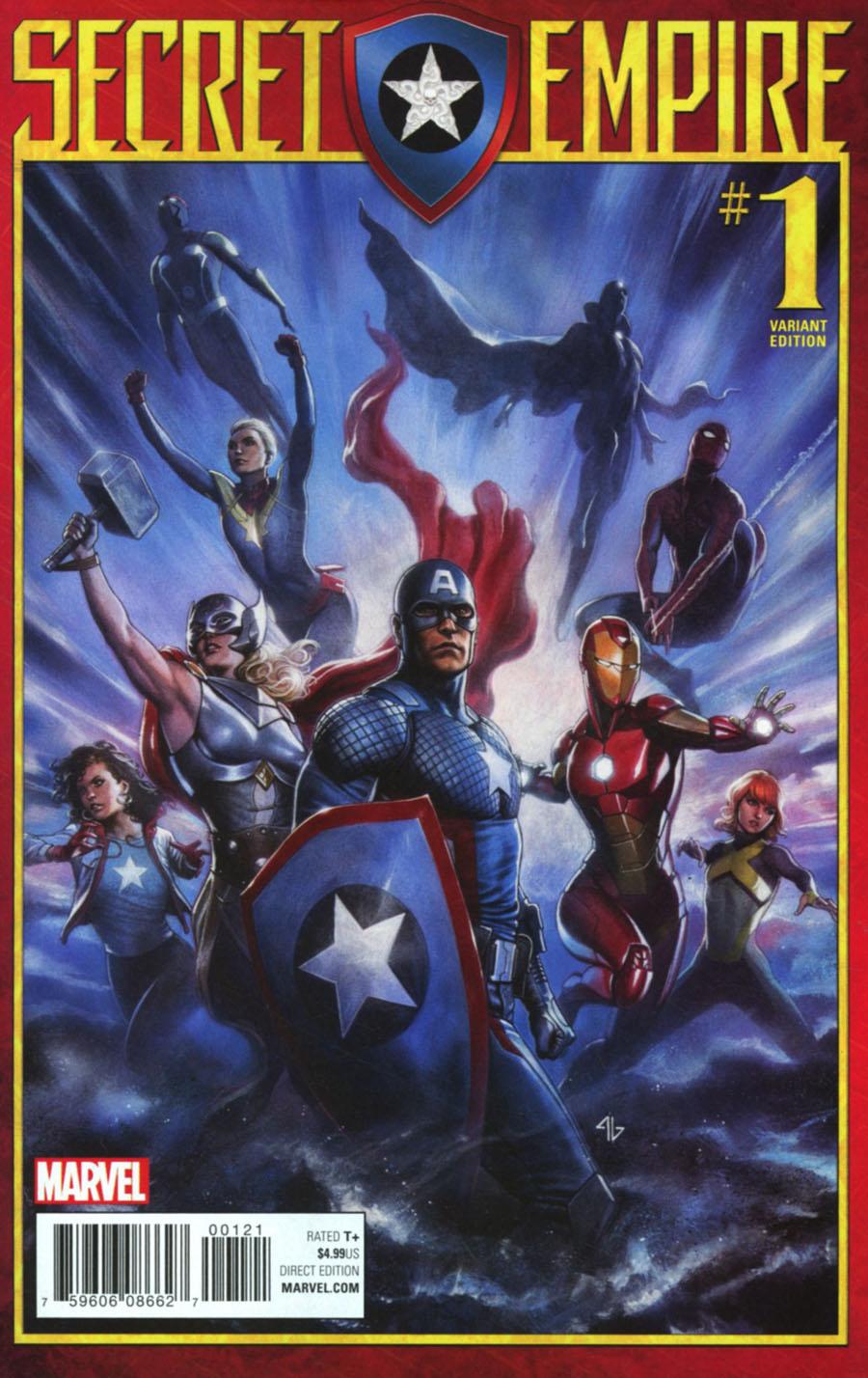 Secret Empire #1 Cover G Incentive Adi Granov Variant Cover