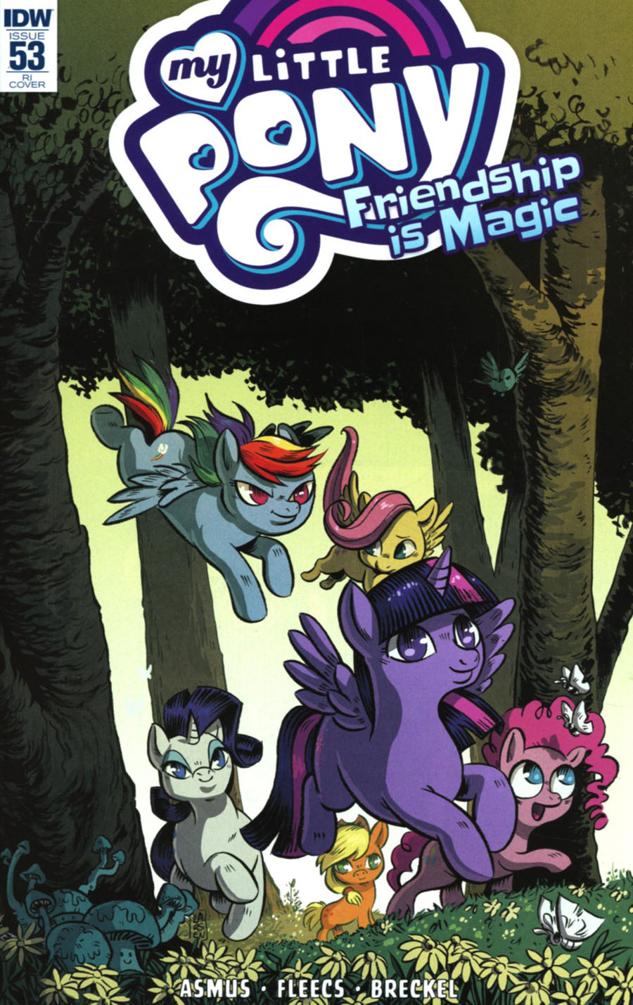 My Little Pony Friendship Is Magic #53 Cover C Incentive Christine Larsen Variant Cover