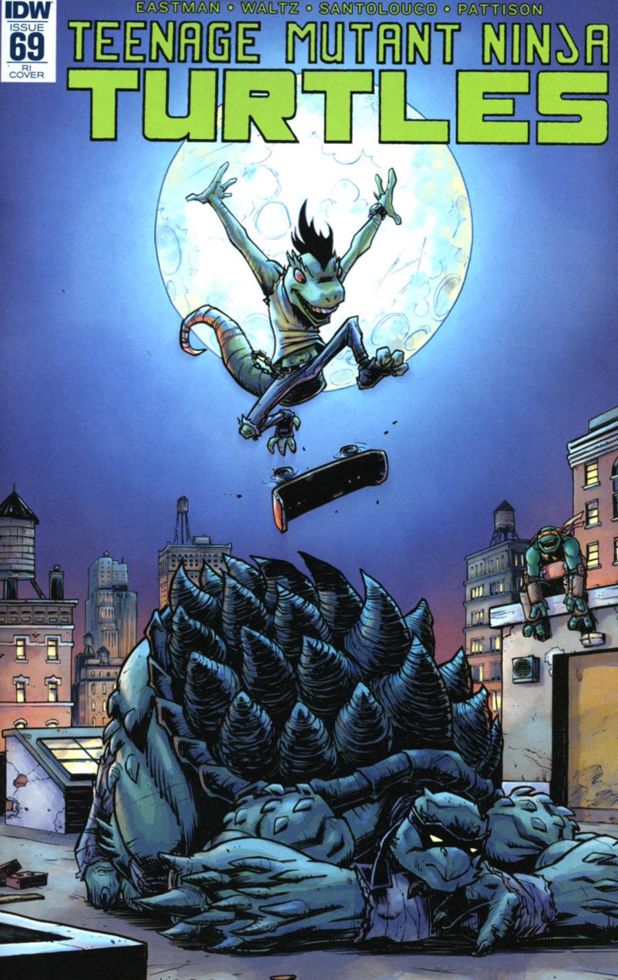 Teenage Mutant Ninja Turtles Vol 5 #69 Cover C Incentive Nick Roche Variant Cover