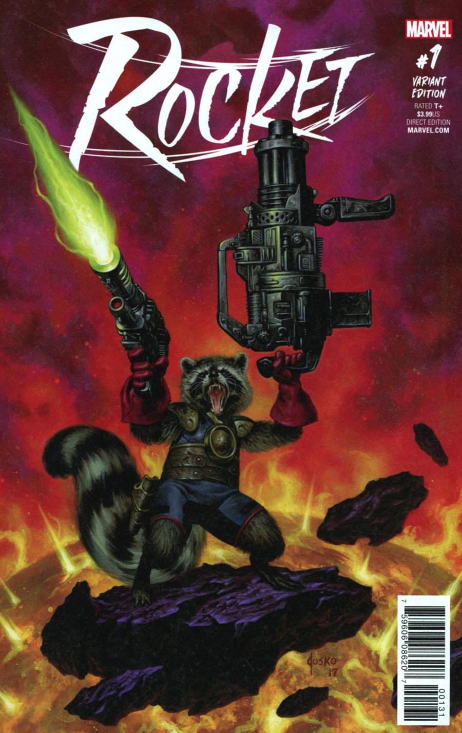 Rocket #1 Cover C Incentive Joe Jusko Variant Cover