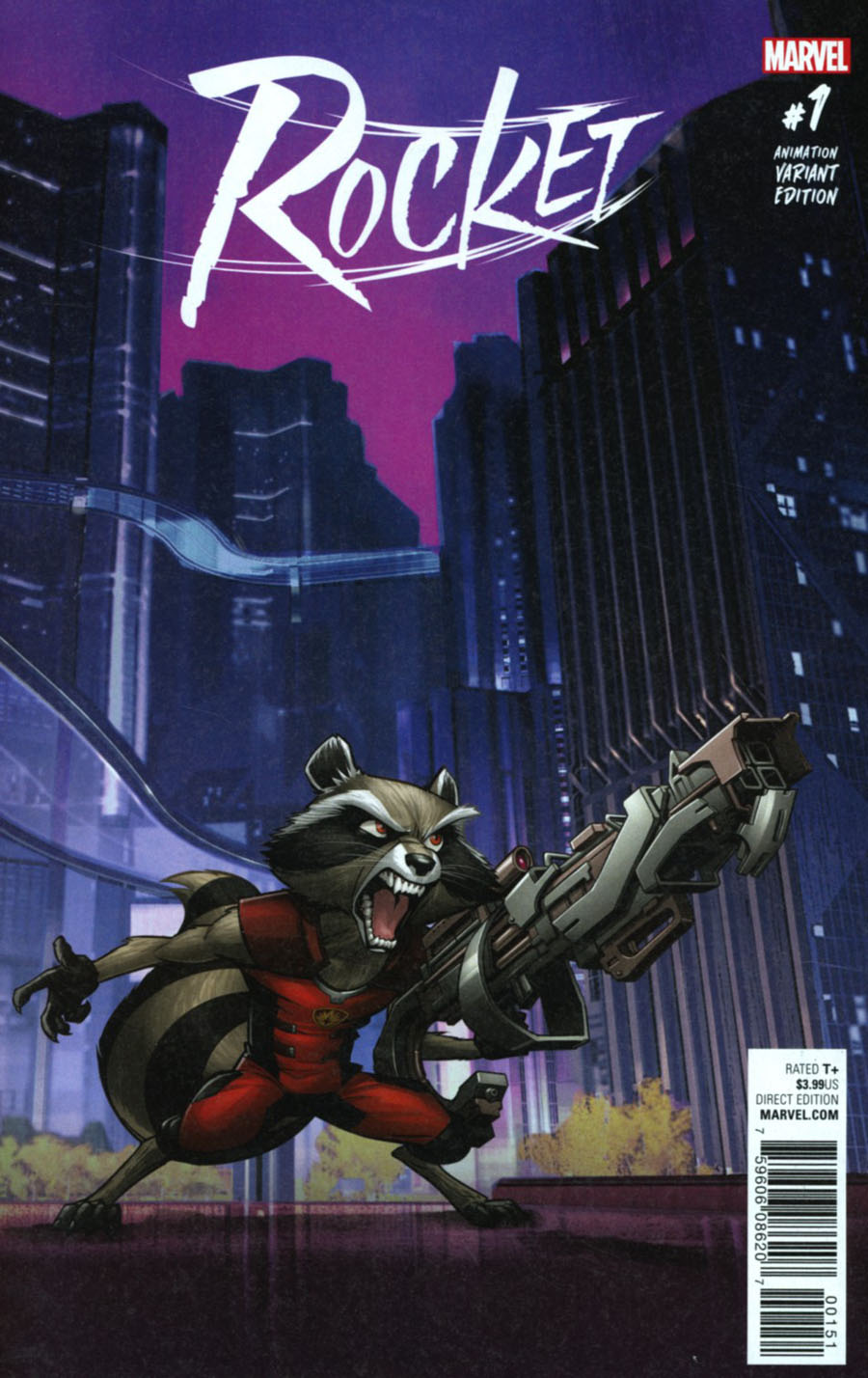 Rocket #1 Cover E Incentive Animation Variant Cover