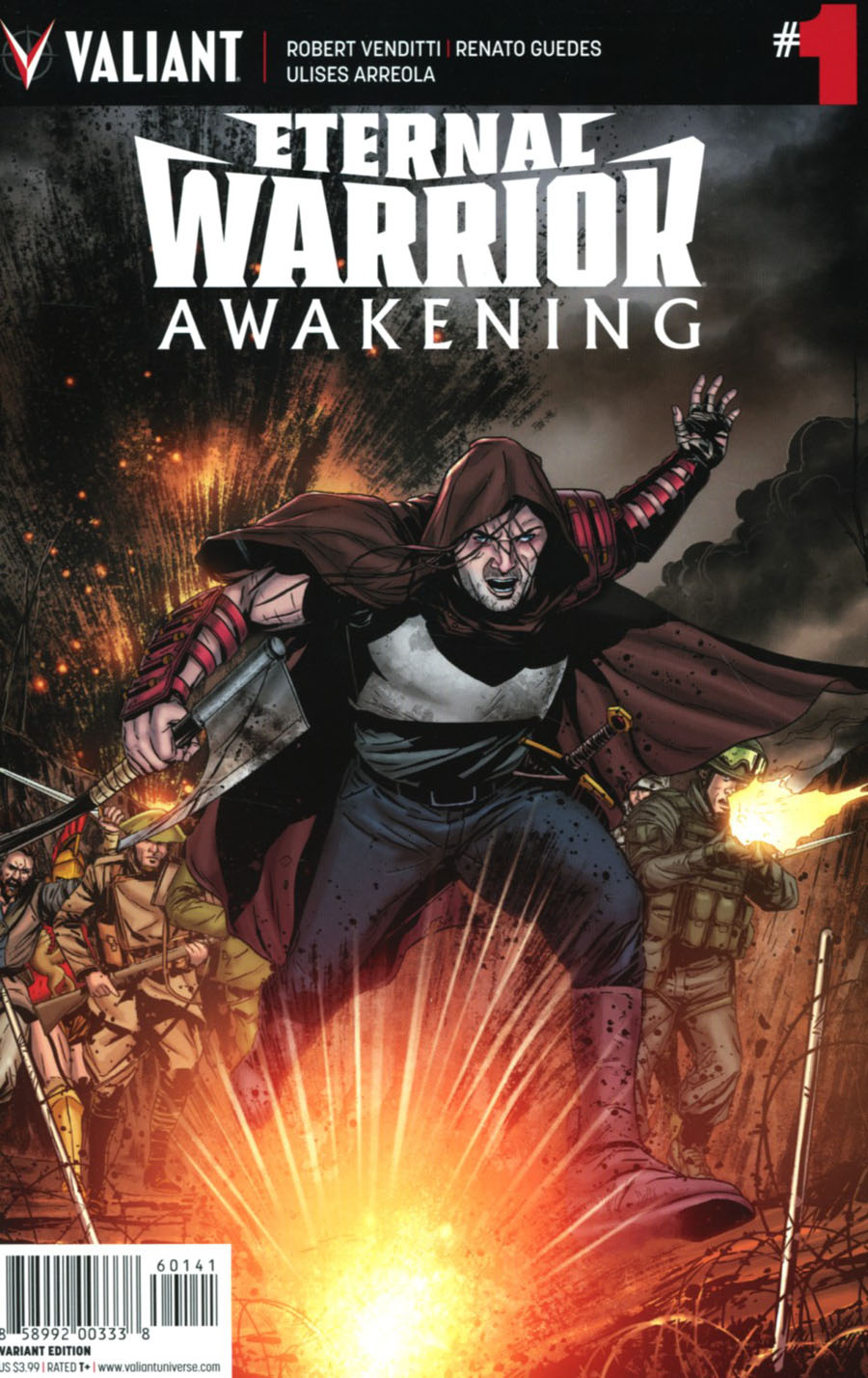 Eternal Warrior Awakening #1 Cover D Incentive Marc Laming Variant Cover