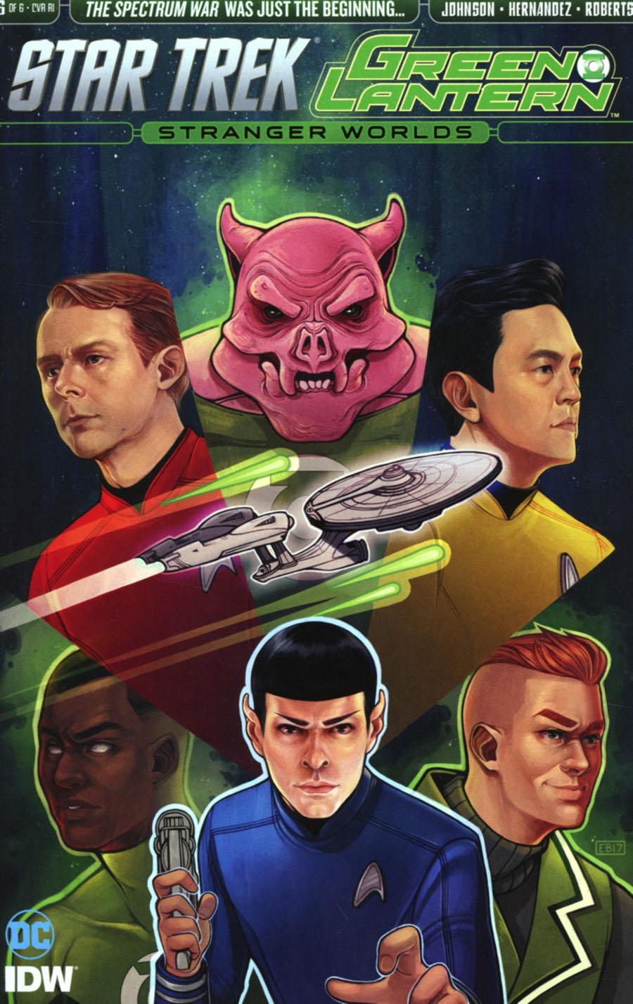 Star Trek Green Lantern Vol 2 Stranger Worlds #6 Cover C Incentive Elizabeth Beals Variant Cover