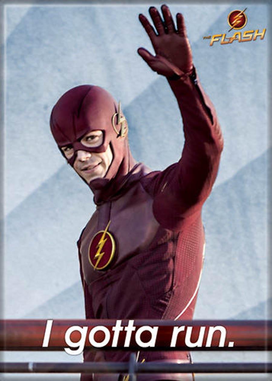 DC Comics 2.5x3.5-inch Magnet - Flash TV I Gotta Run (72234DC)