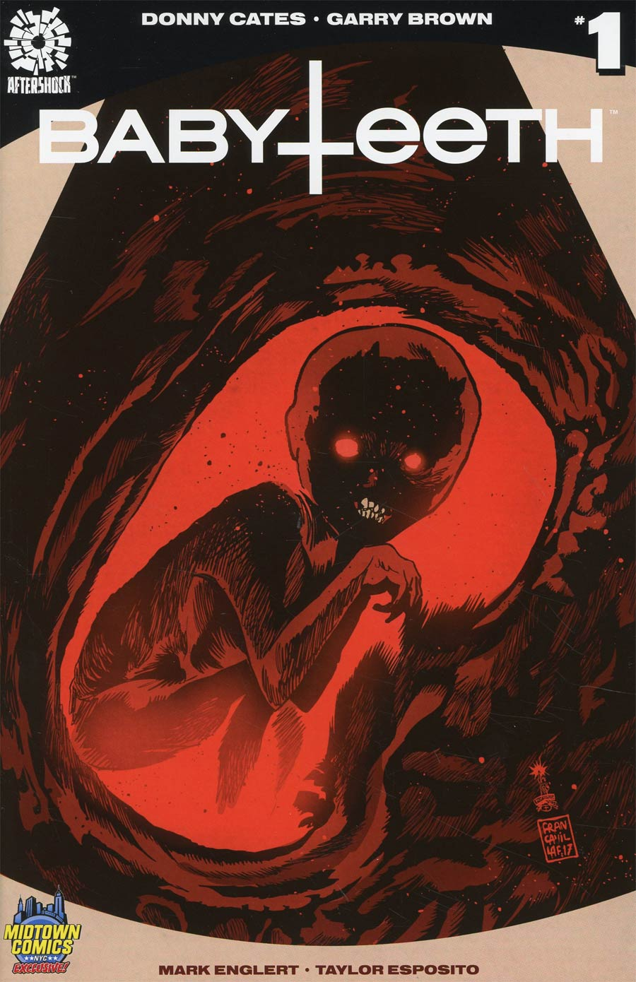 Babyteeth #1 Cover B Midtown Exclusive Francesco Francavilla Variant Cover