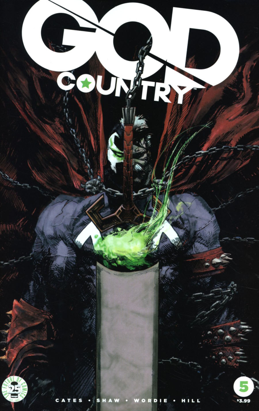 God Country #5 Cover C Variant Gerardo Zaffino Spawn Month Color Cover