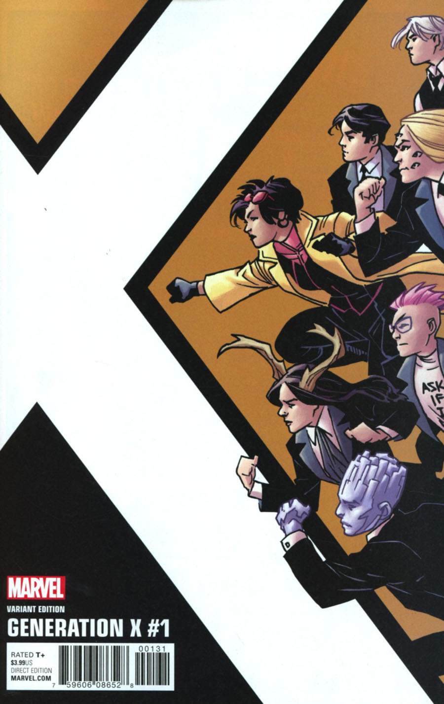 Generation X Vol 2 #1 Cover D Incentive Leonard Kirk Corner Box Variant Cover (Resurrxion Tie-In)