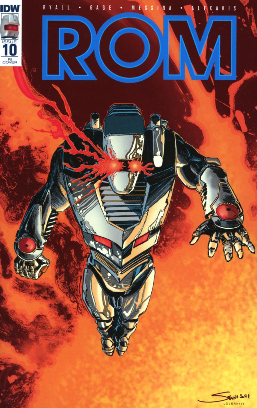 ROM Vol 2 #10 Cover E Incentive John Stanisci Variant Cover
