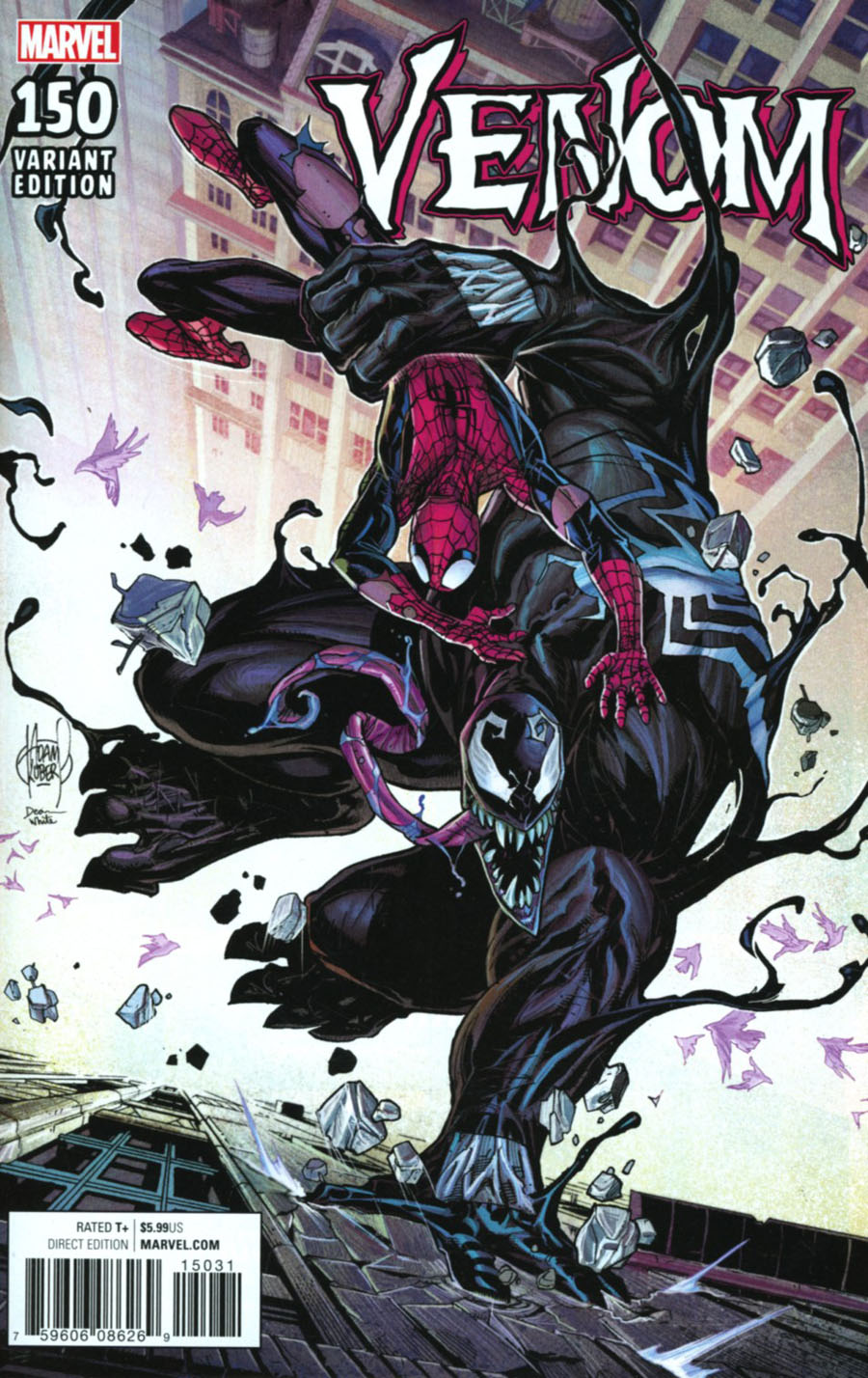 Venom Vol 3 #150 Cover E Incentive Adam Kubert Variant Cover