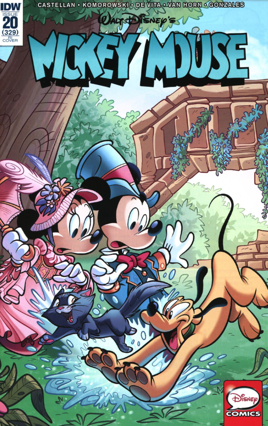Mickey Mouse Vol 2 #20 Cover D Incentive Massimo Asaro Variant Cover