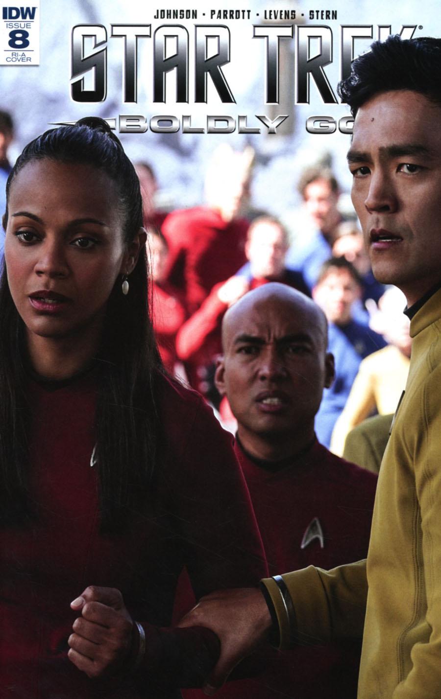 Star Trek Boldly Go #8 Cover D Incentive Photo Variant Cover