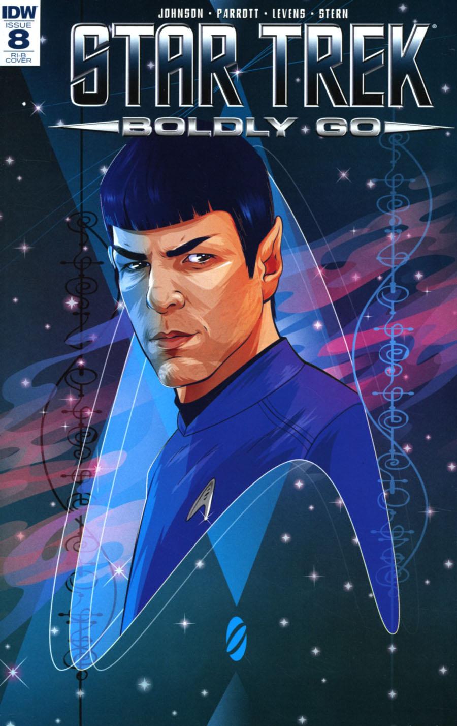Star Trek Boldly Go #8 Cover E Incentive Cryssy Cheung Variant Cover
