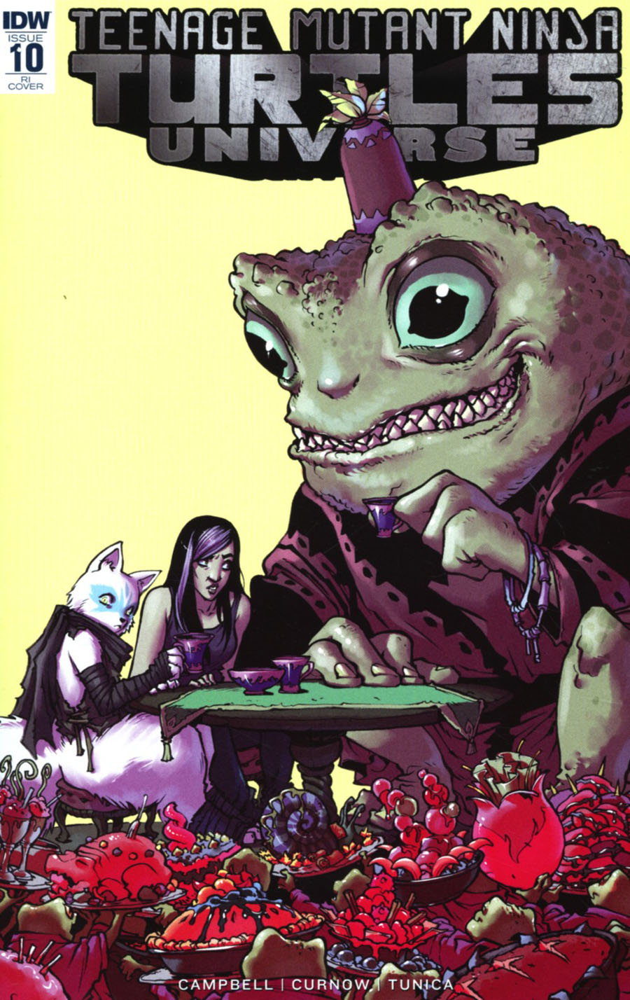 Teenage Mutant Ninja Turtles Universe #10 Cover C Incentive Sophie Campbell Variant Cover
