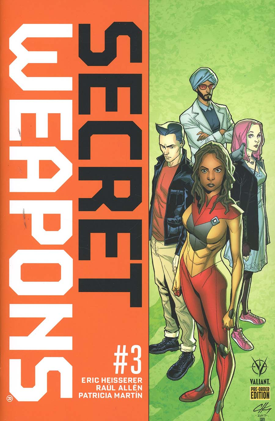 Secret Weapons Vol 2 #3 Cover C Variant Clayton Henry Cover