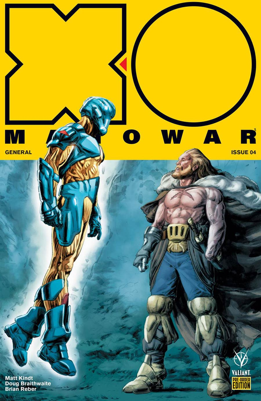 X-O Manowar Vol 4 #4 Cover C Variant Doug Braithwaite Cover
