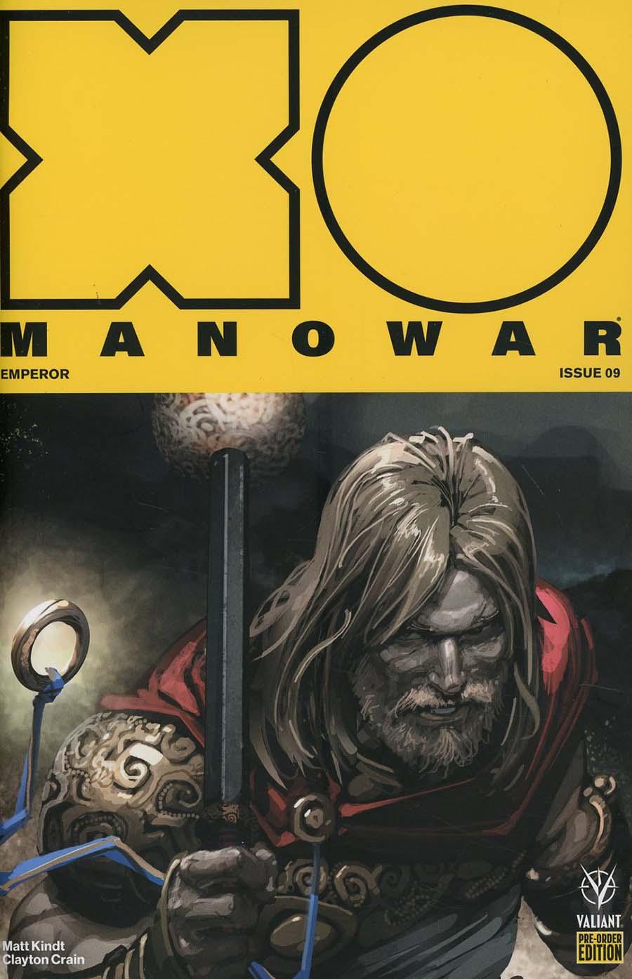 X-O Manowar Vol 4 #9 Cover C Variant Doug Braithwaite Cover