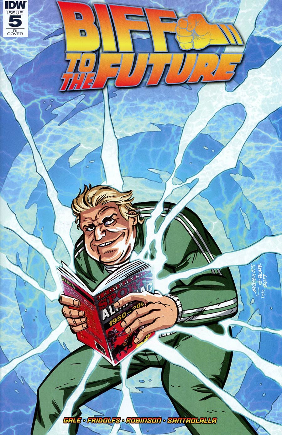 Back To The Future Biff To The Future #5 Cover C Incentive Anthony Marques Variant Cover
