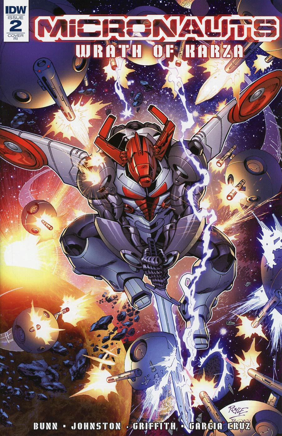 Micronauts Wrath Of Karza #2 Cover C Incentive John Royle Variant Cover