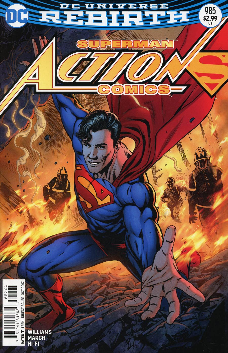 Action Comics Vol 2 #985 Cover B Variant Neil Edwards & Jay Leisten Cover