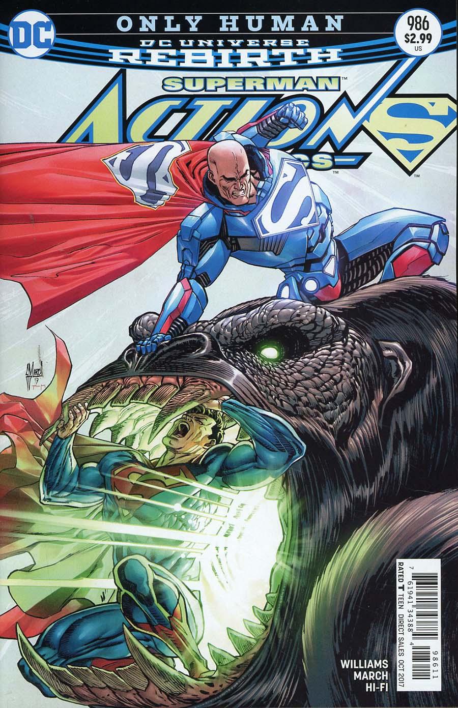 Action Comics Vol 2 #986 Cover A Regular Guillem March Cover