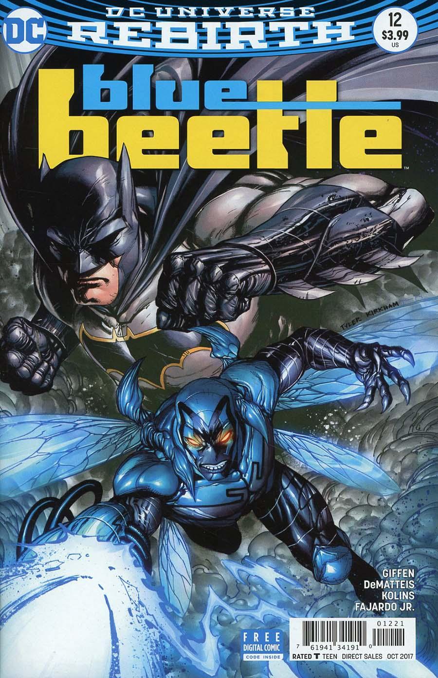 Blue Beetle (DC) Vol 4 #12 Cover B Variant Tyler Kirkham Cover