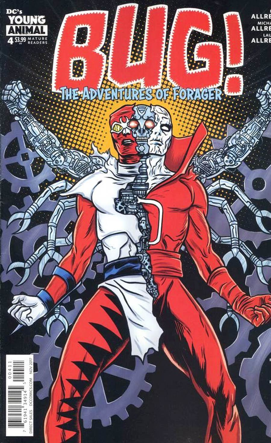 Bug The Adventures Of Forager #4 Cover A Regular Michael Allred Cover