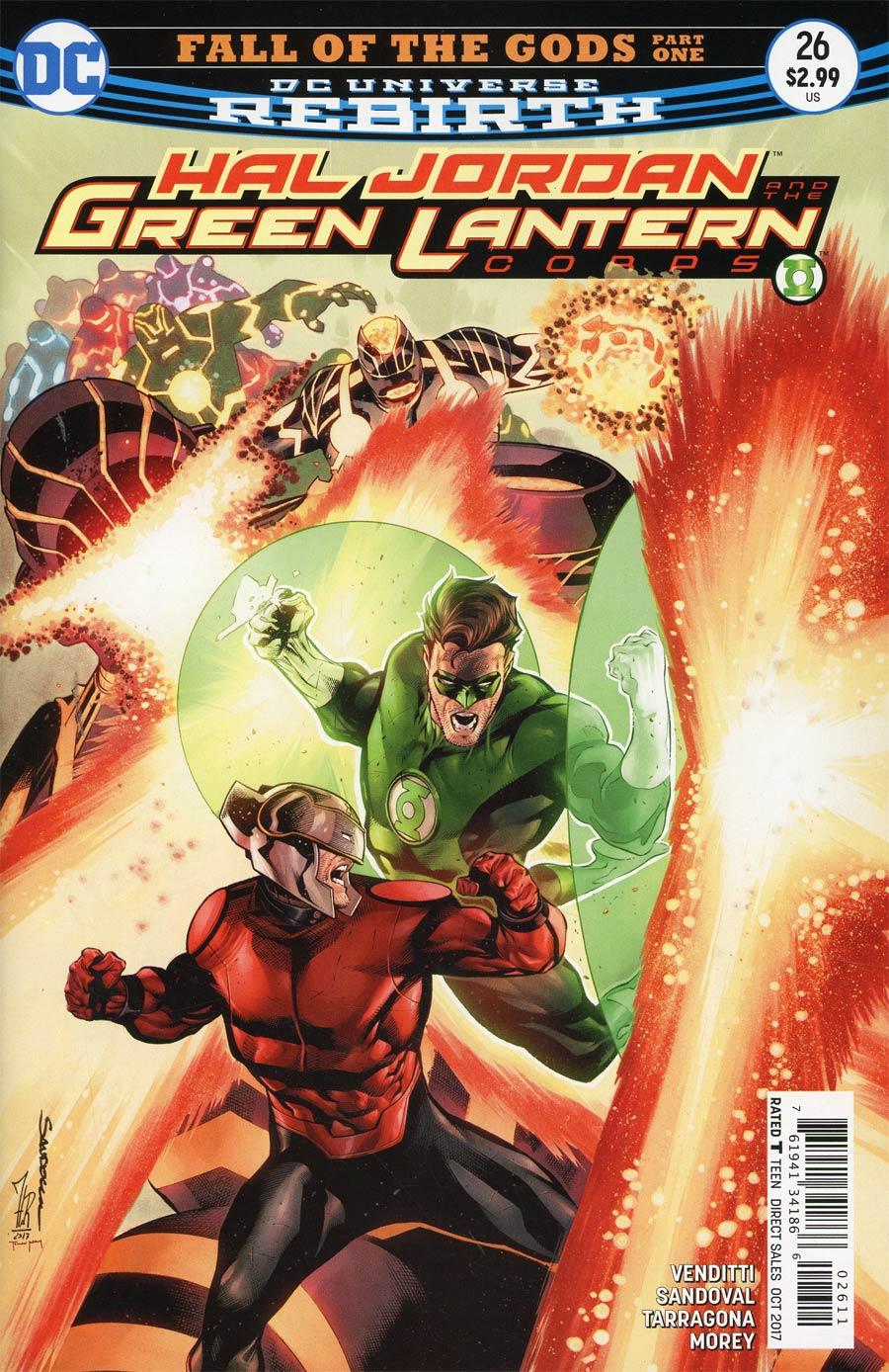 Hal Jordan And The Green Lantern Corps #26 Cover A Regular Rafa Sandoval & Jordi Tarragona Cover