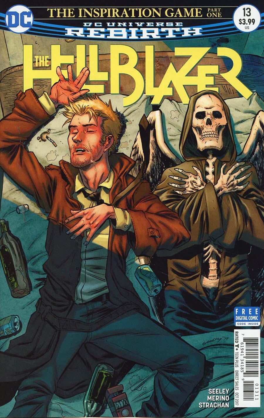 Hellblazer Vol 2 #13 Cover A Regular Tim Seeley Cover