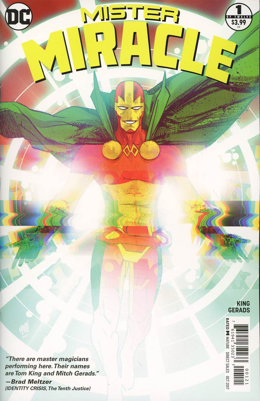 Mister Miracle Vol 4 #1 Cover B Variant Mitch Gerads Cover