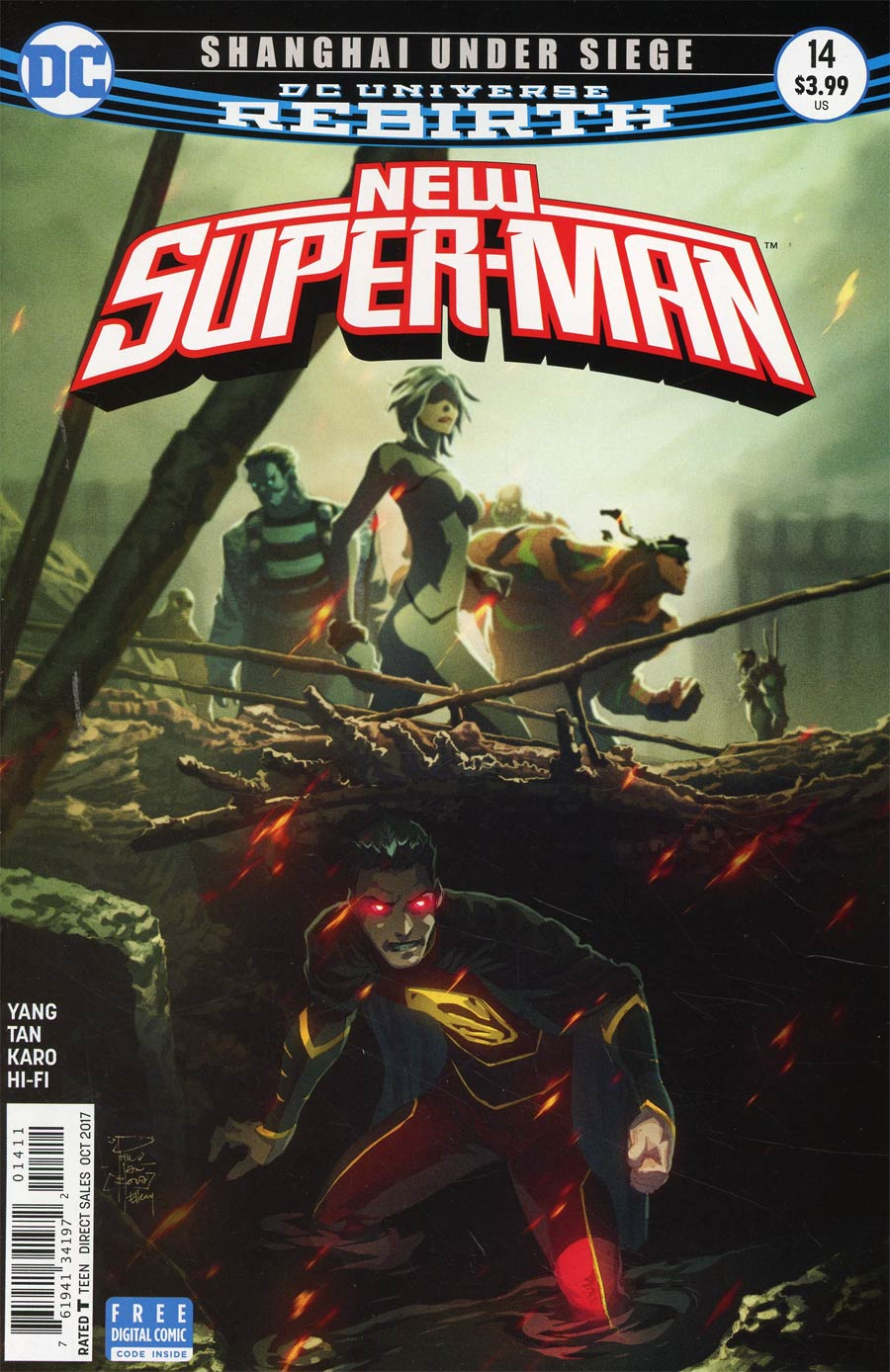 New Super-Man #14 Cover A Regular Philip Tan Cover