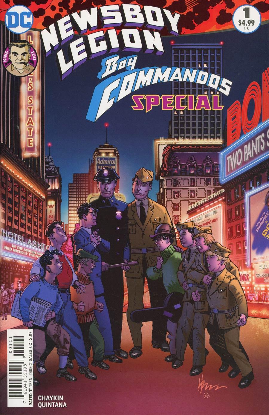 Newsboy Legion And The Boy Commandos Special #1