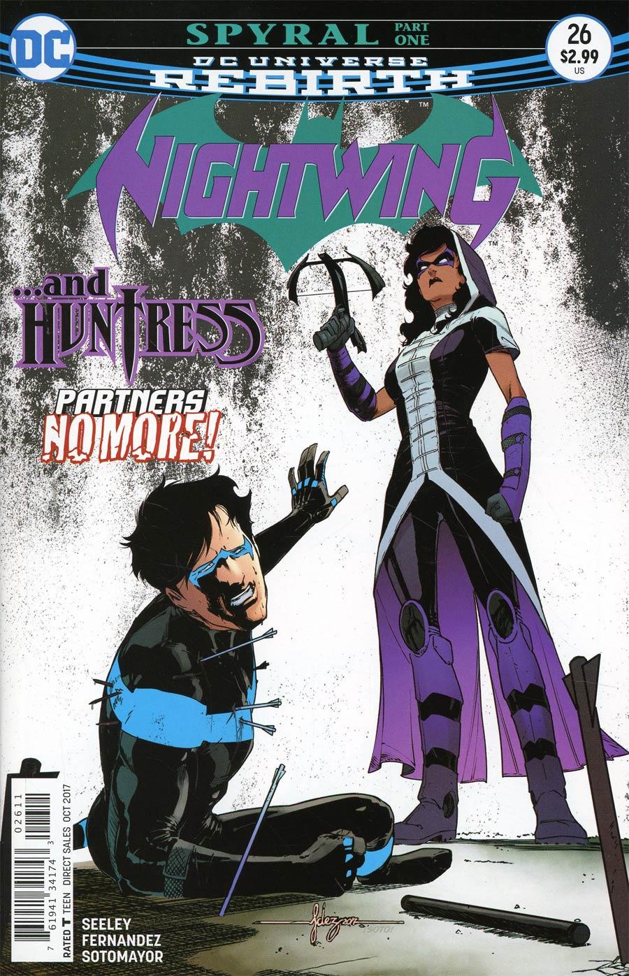 Nightwing Vol 4 #26 Cover A Regular Javier Fernandez Cover