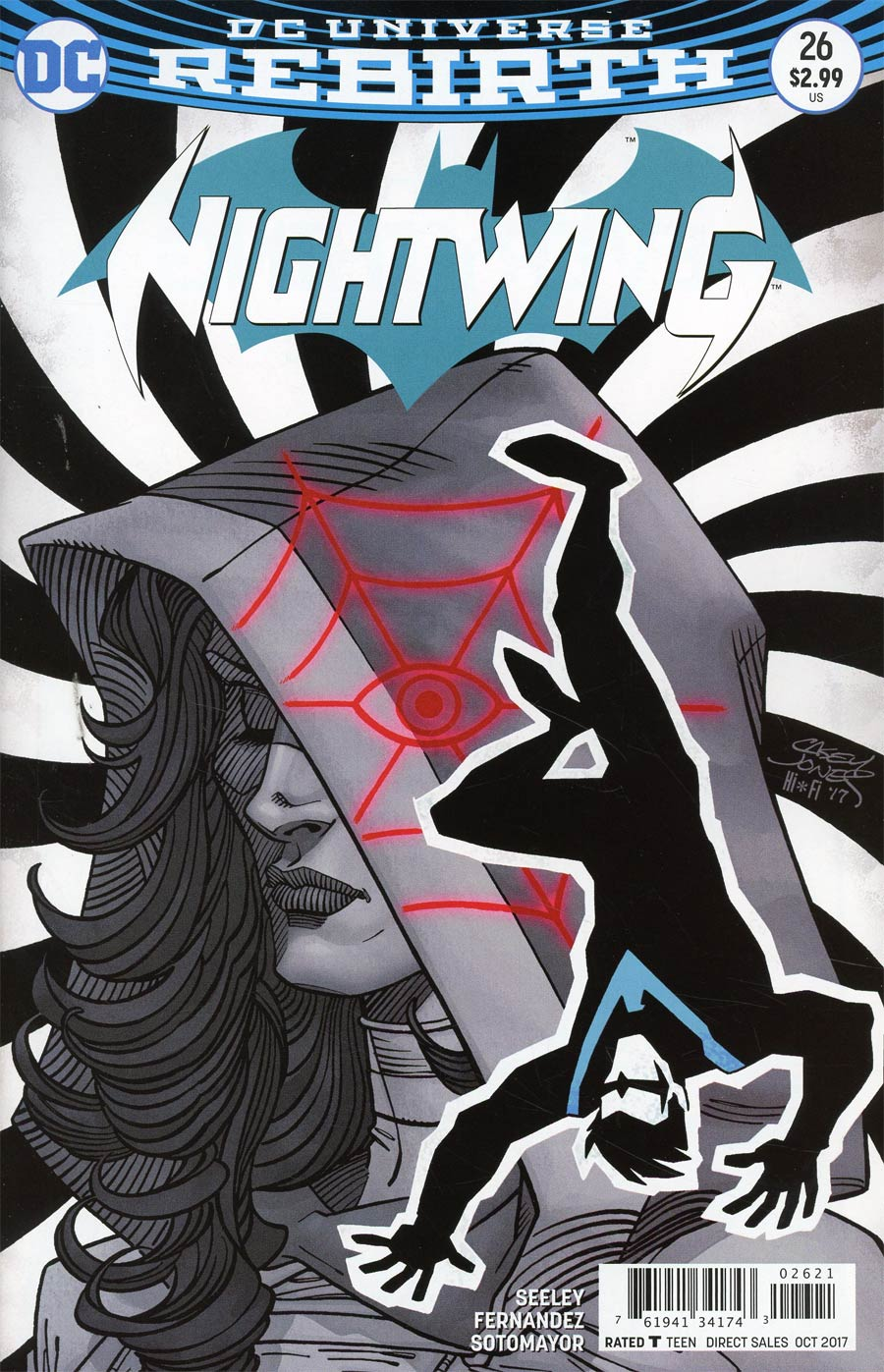 Nightwing Vol 4 #26 Cover B Variant Casey Jones Cover