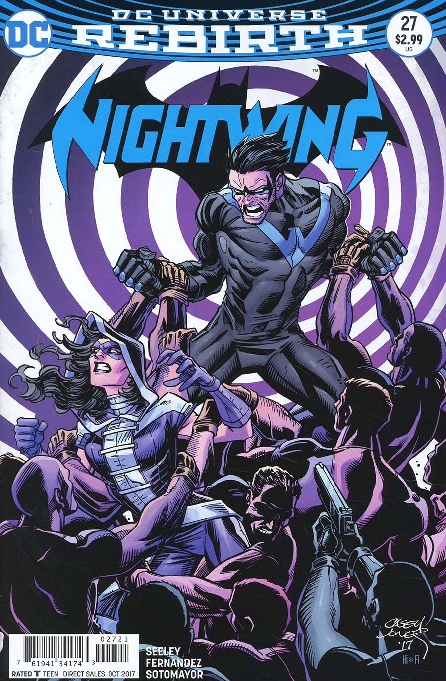 Nightwing Vol 4 #27 Cover B Variant Casey Jones Cover