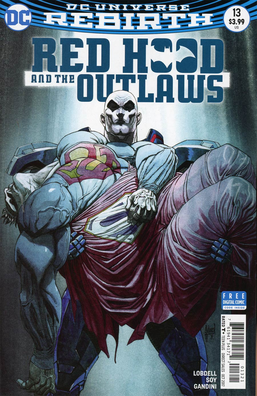 Red Hood And The Outlaws Vol 2 #13 Cover B Variant Guillem March Cover