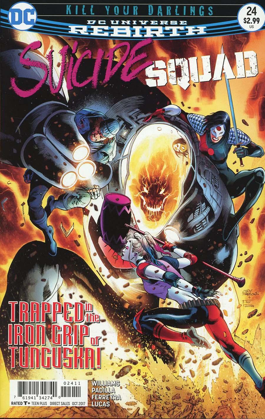 Suicide Squad Vol 4 #24 Cover A Regular Eddy Barrows & Eber Ferreira Cover
