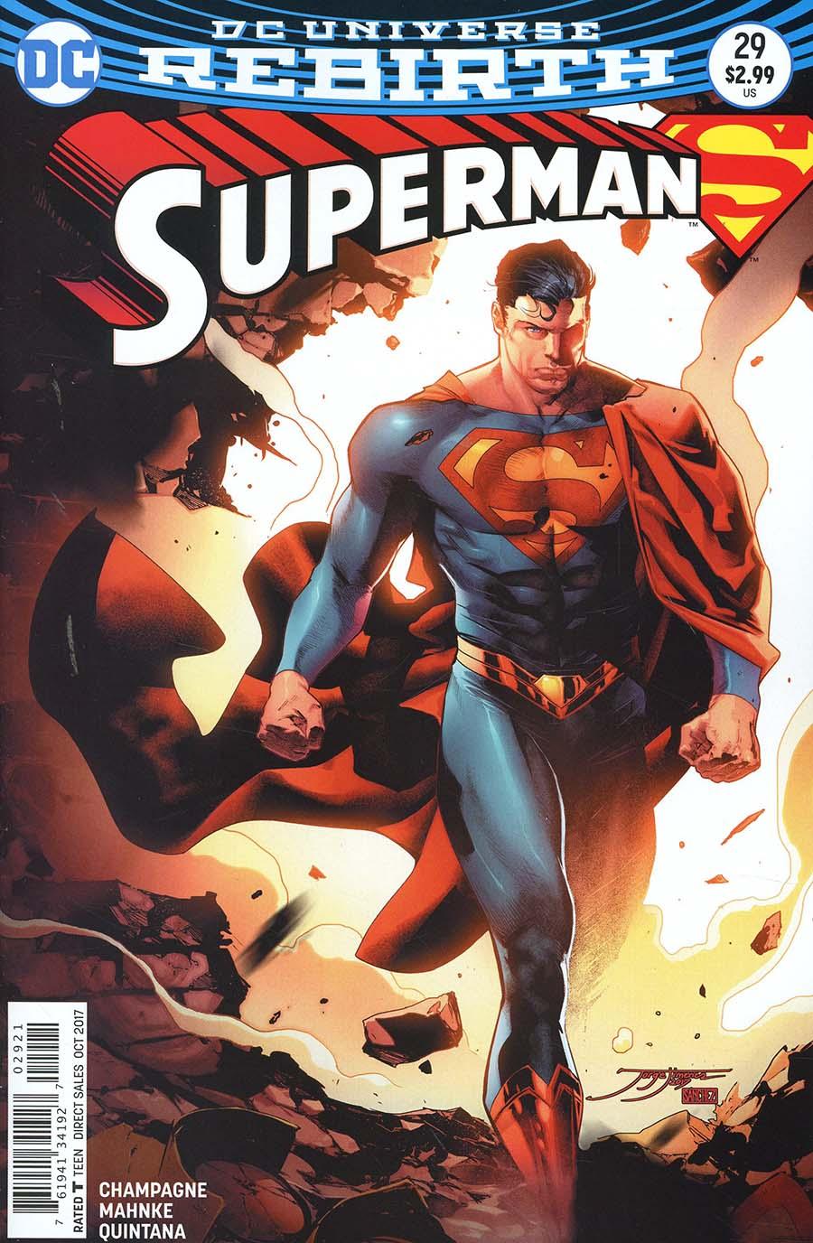 Superman Vol 5 #29 Cover B Variant Jorge Jimenez Cover