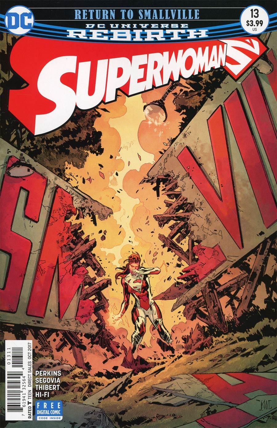 Superwoman #13 Cover A Regular Ken Lashley Cover