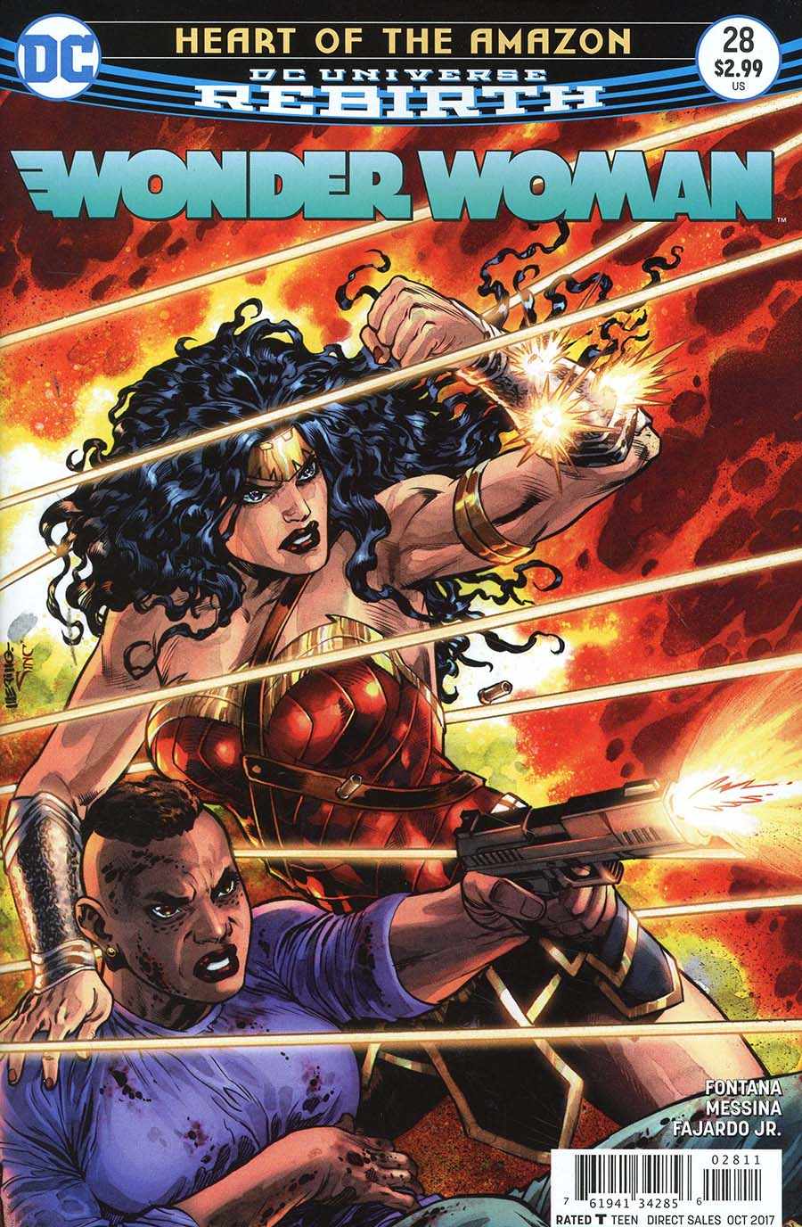 Wonder Woman Vol 5 #28 Cover A Regular Jesus Merino Cover