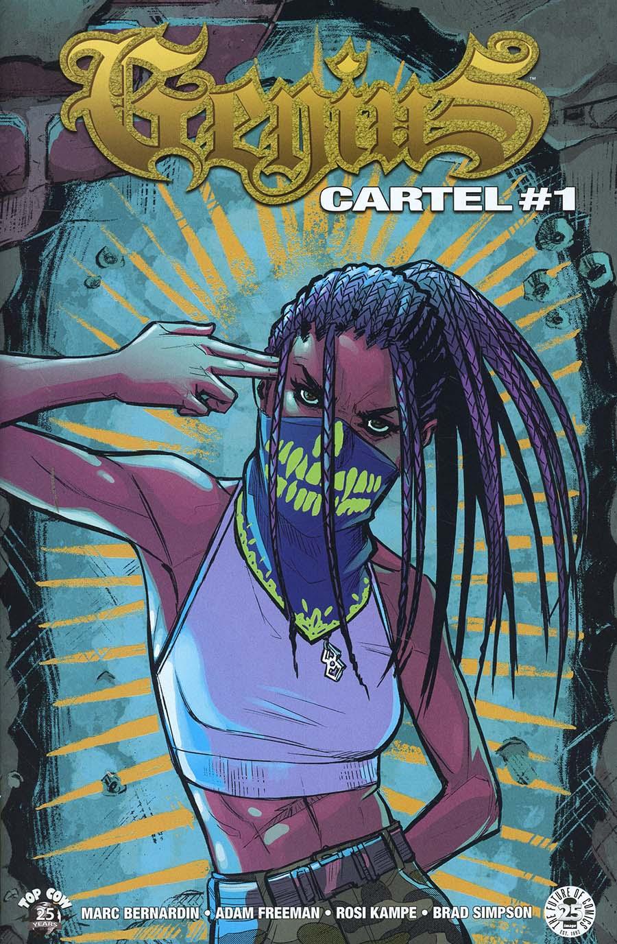 Genius Cartel #1 Cover A Regular Rosi Kampe Cover