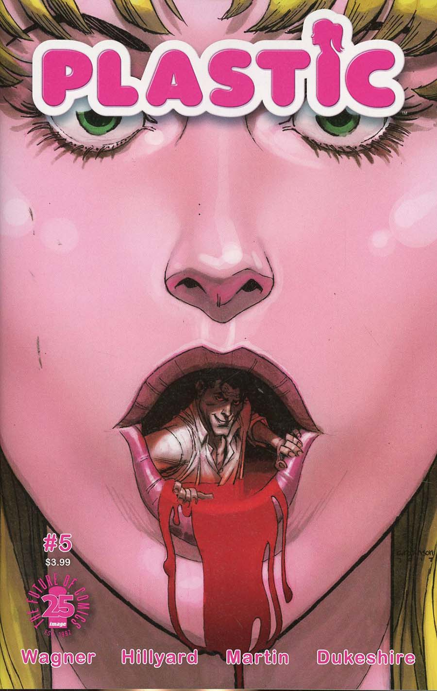 Plastic #5 Cover A Regular Andrew Robinson Cover