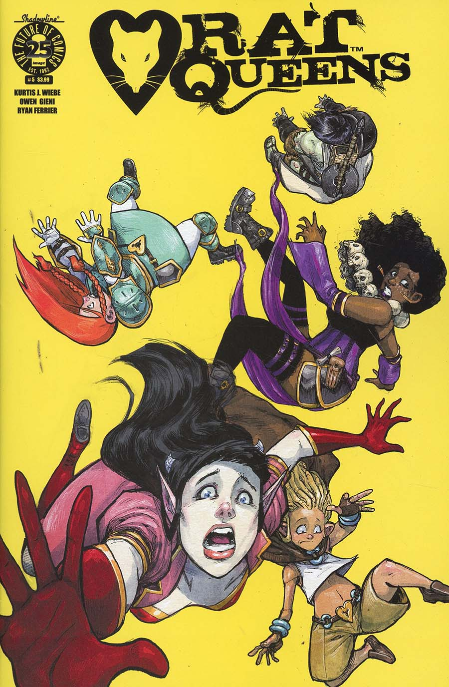 Rat Queens Vol 2 #5 Cover A Regular Owen Gieni Cover