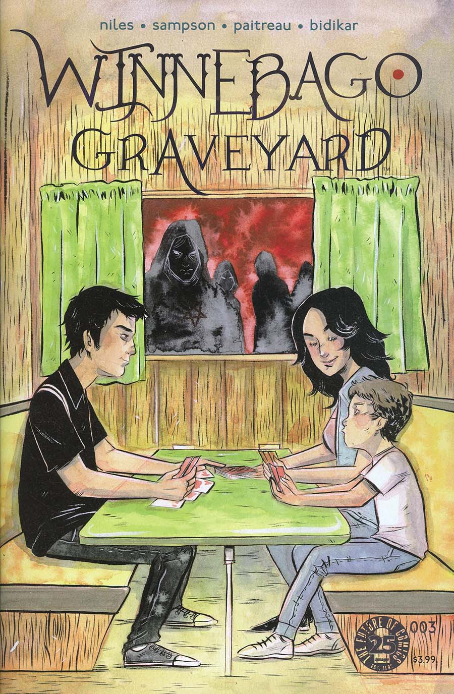 Winnebago Graveyard #3 Cover B Variant Emi Lenox Cover