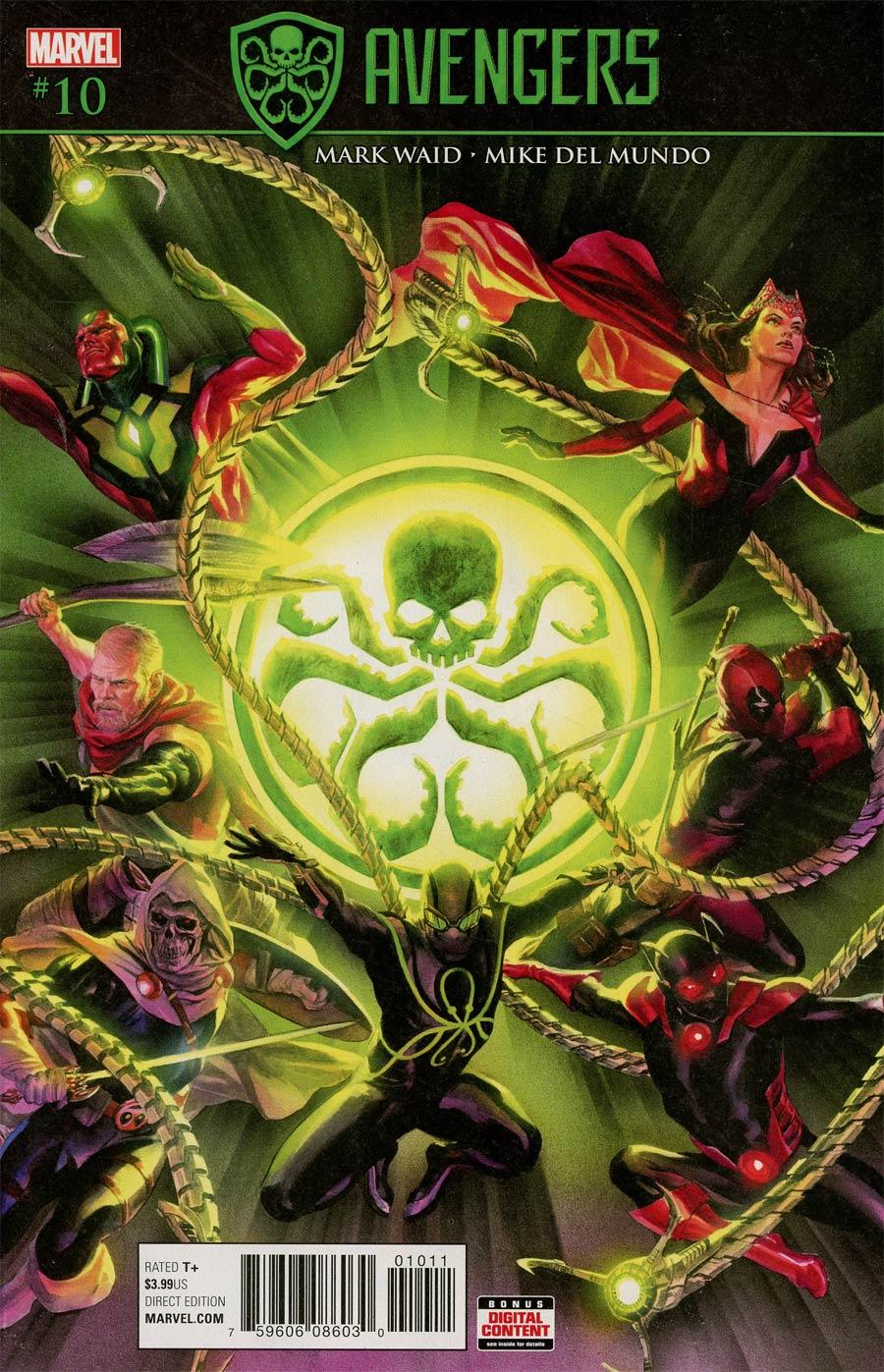 Avengers Vol 6 #10 Cover A Regular Alex Ross Cover (Secret Empire Tie-In)