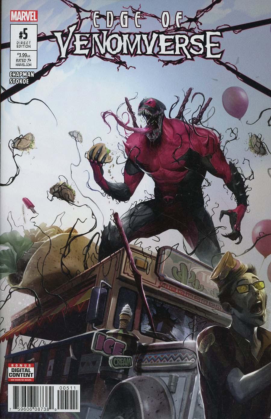 Edge Of Venomverse #5 Cover A Regular Francesco Mattina Cover