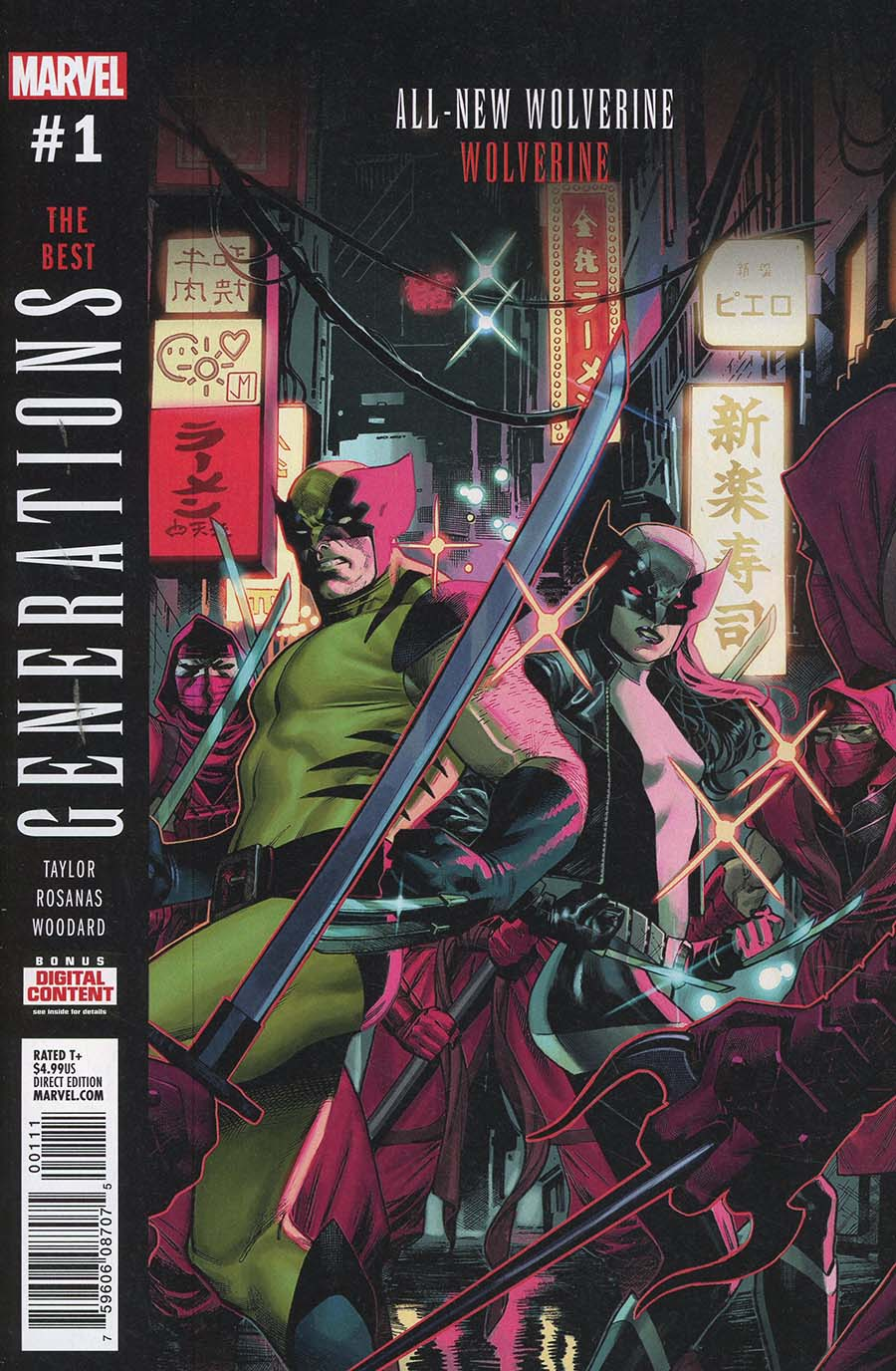 Generations Wolverine & All-New Wolverine #1 Cover A 1st Ptg Regular Jorge Molina Cover
