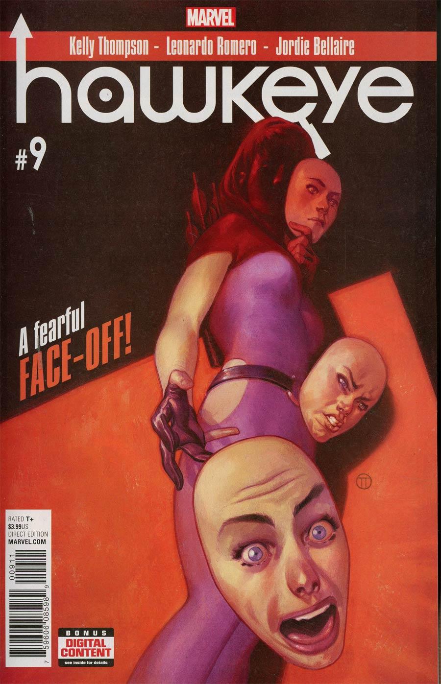 Hawkeye Vol 5 #9 Cover A Regular Julian Totino Tedesco Cover