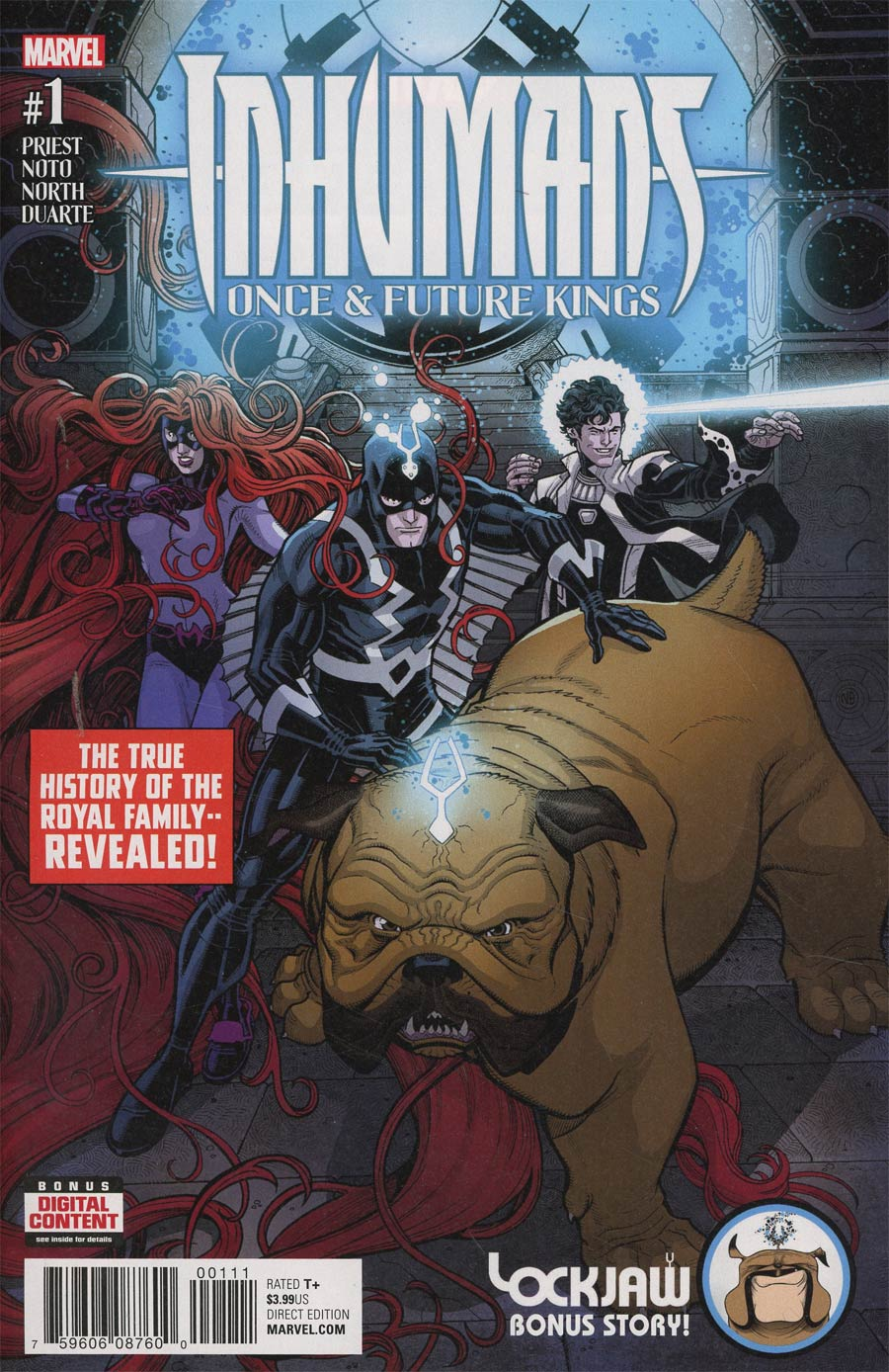 Inhumans Once And Future Kings #1 Cover A Regular Nick Bradshaw Cover