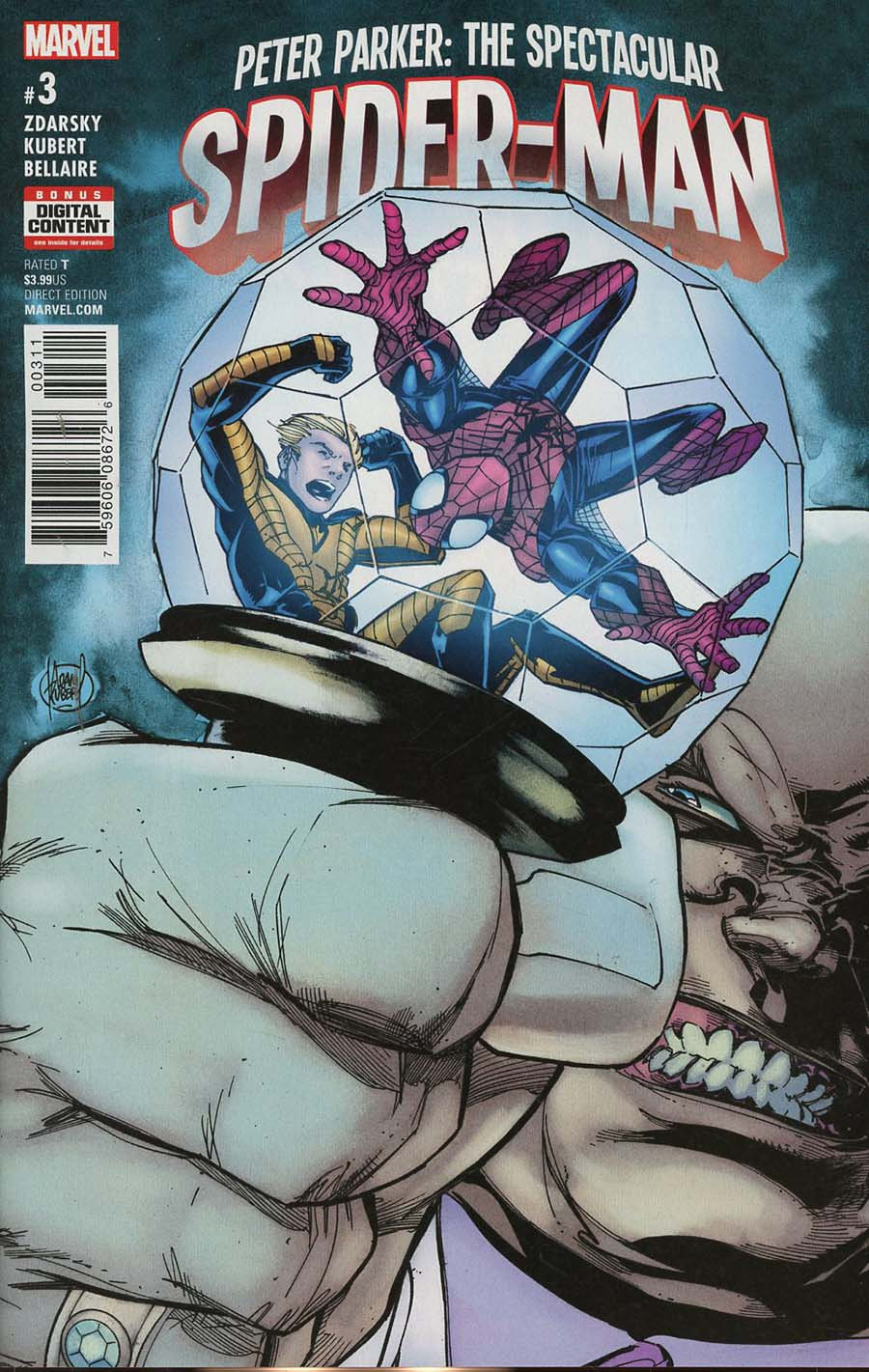 Peter Parker Spectacular Spider-Man #3 Cover A Regular Adam Kubert Cover