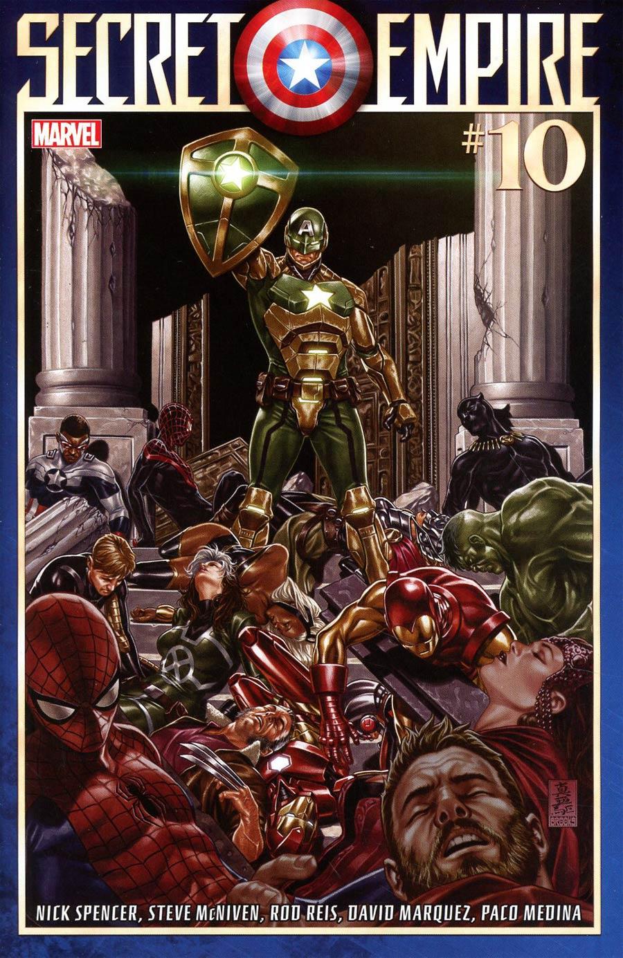 Secret Empire #10 Cover A Regular Mark Brooks Cover